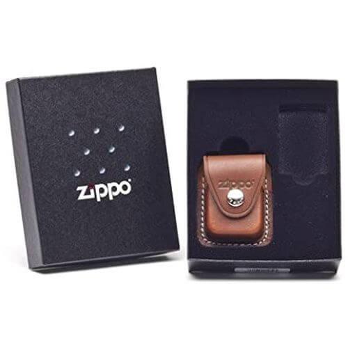 ZIPPO_ LPCB poklon kit_sa torbicom-bez upaljaca-smedja