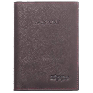 Passport Holder Brown