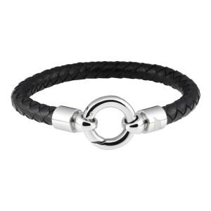 Leather Bracelet w Big O Ring