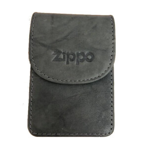 Zippo leather cigarette case