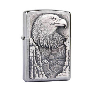 ZIPPO WINDPROOF LIGHTER EAGLE GRAND CANYON