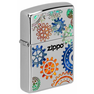 Zippo High Polish Chrome Fusion